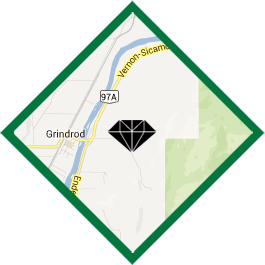 Map to Black Diamond Soil Services